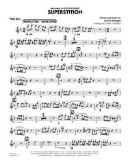 Download Superstition - Tenor Sax 1 Sheet Music By Stevie Wonder