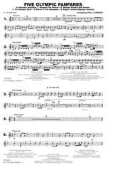 Five Olympic Fanfares - Bb Tenor Sax