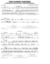 Five Olympic Fanfares - Snare Drum