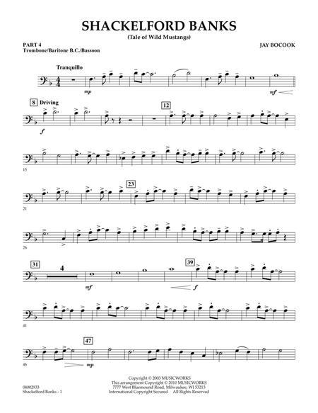 Shackelford Banks (Tale of Wild Mustangs) - Pt.4 - Trombone/Bar. B.C./Bsn.