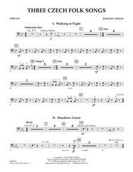 Three Czech Folk Songs - Timpani