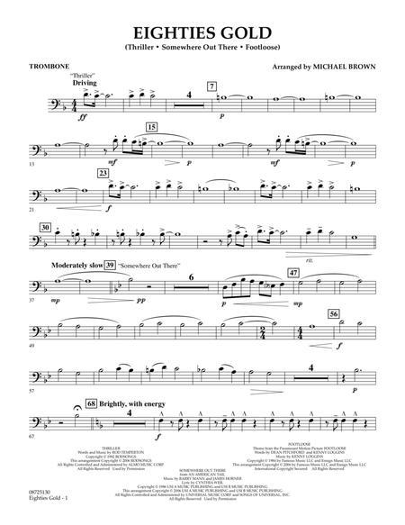 Eighties Gold - Trombone