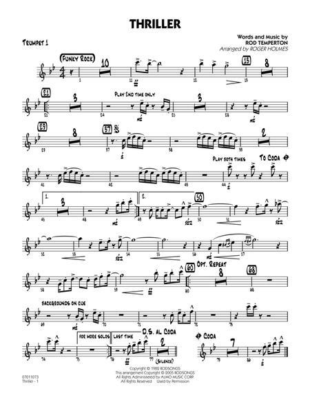 Thriller - Trumpet 1
