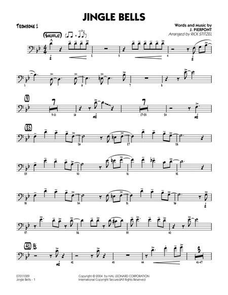 Jingle Bells - Trombone 1
