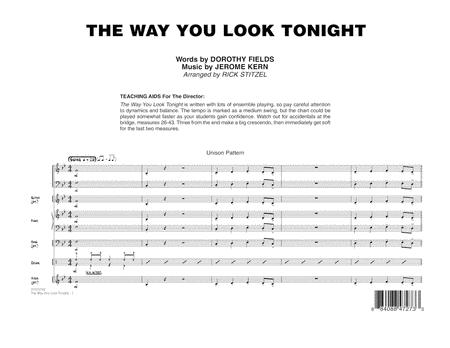 The Way You Look Tonight - Full Score