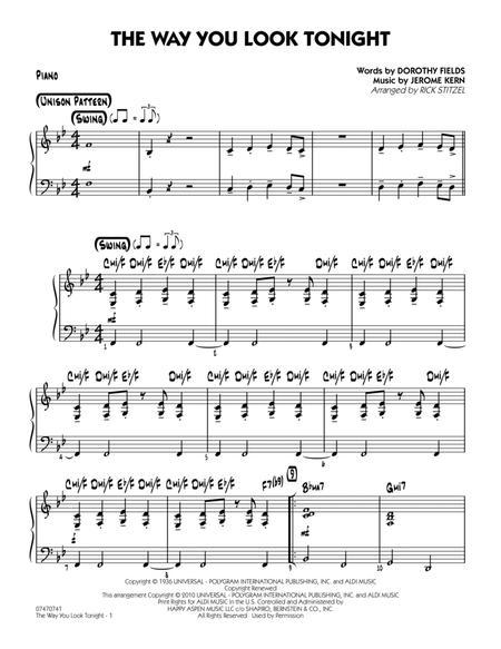 The Way You Look Tonight - Piano