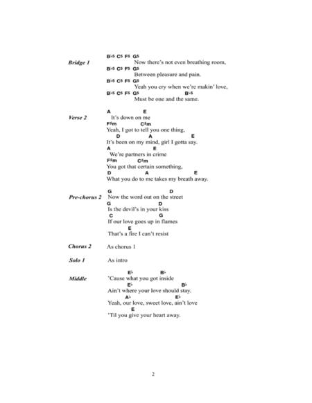 Preview Cryin\' By Aerosmith (HX.142475) - Sheet Music Plus