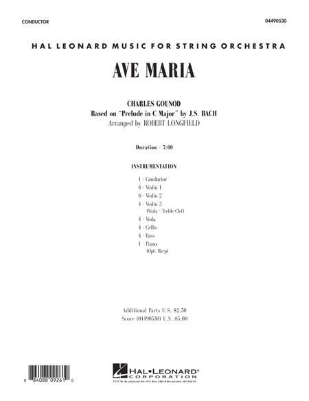 Ave Maria - Full Score
