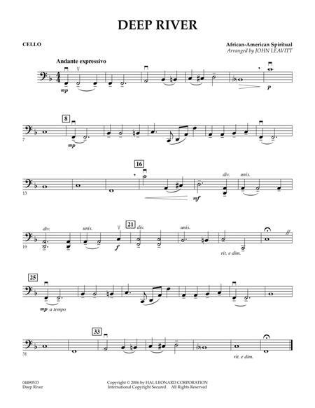 Deep River - Cello