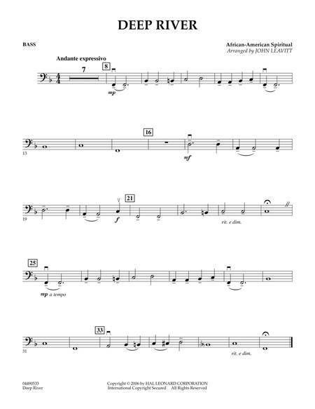 Deep River - String Bass