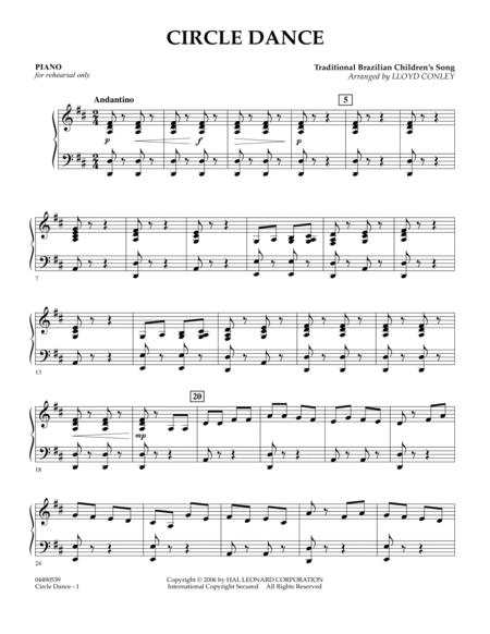 Circle Dance - Piano