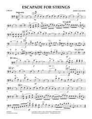 Escapade for Strings - Cello