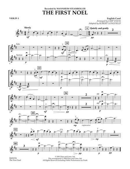 The First Noel - Violin 1