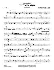 The Mikado (Overture) - Cello