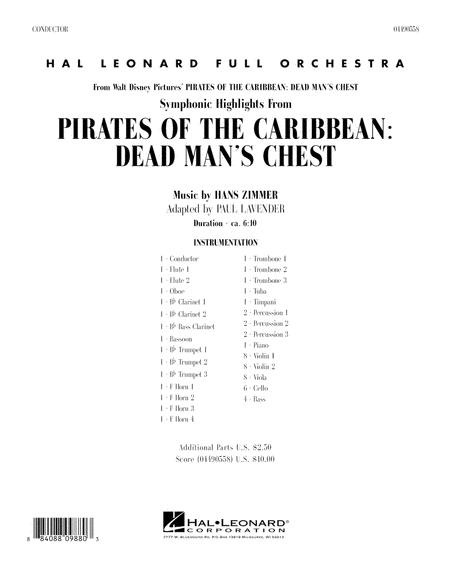 Soundtrack Highlights from Pirates Of The Caribbean: Dead Man's Chest - Full Score