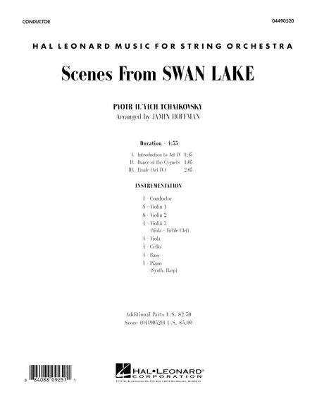 Scenes from Swan Lake - Full Score
