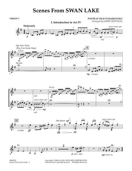 Scenes from Swan Lake - Violin 1