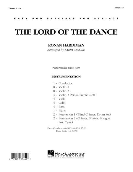 Lord Of The Dance - Full Score