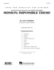 Mission: Impossible Theme - Full Score
