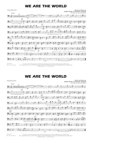 We Are The World - Electric Bass