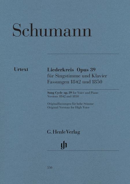 Liederkreis, Op. 39