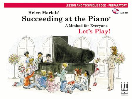 Succeeding at the Piano Lesson and Technique Book - Preparatory (with CD)