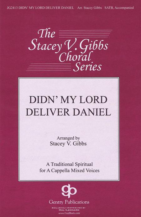 Didn' My Lord Deliver Daniel