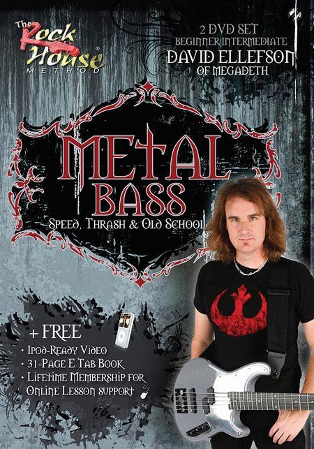 David Ellefson of Megadeth - Metal Bass