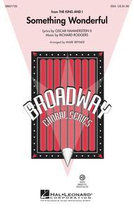 Something Wonderful - ShowTrax CD
