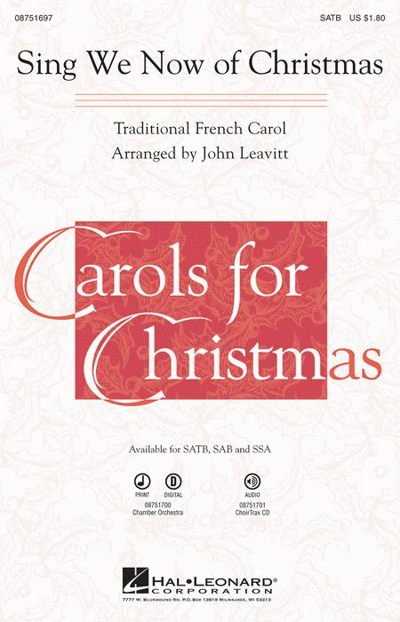 Sing We Now of Christmas - ChoirTrax CD