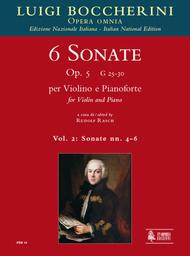 6 Sonatas Op. 5 (G 25-30)