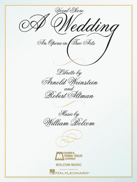 A Wedding By William Bolcom