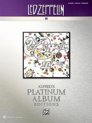 Led Zeppelin -- III Platinum