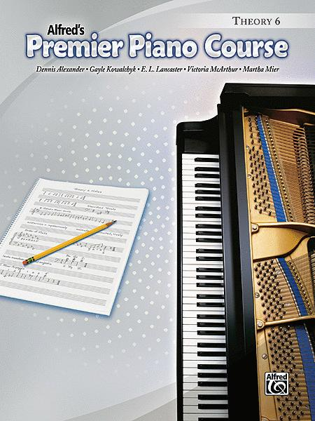 Premier Piano Course Theory, Book 6