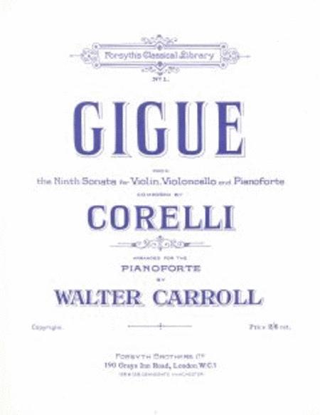 Gigue in A (Corelli)