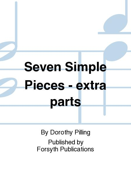 Seven Simple Pieces - extra parts