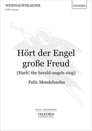 Hort der Engel grosse Freud (Hark! the herald-angels sing)