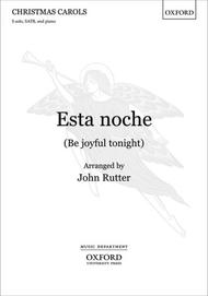Esta noche (Be joyful tonight)
