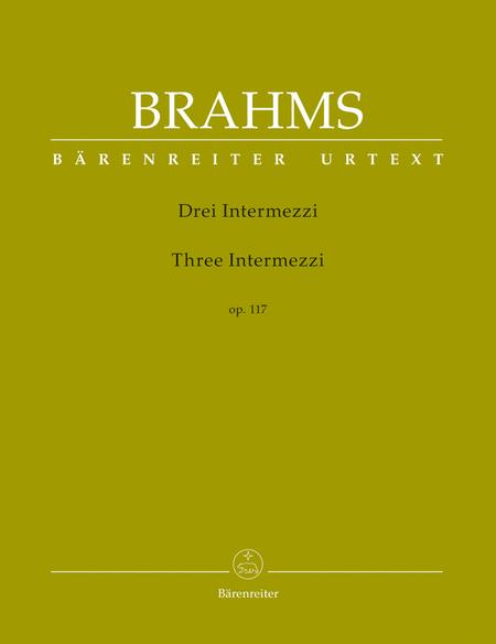 Three Intermezzi, Op. 117