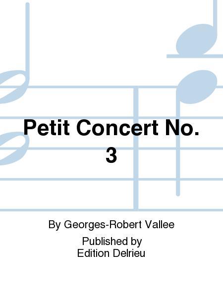 Petit concert No. 3