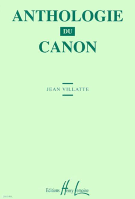 Anthologie du canon