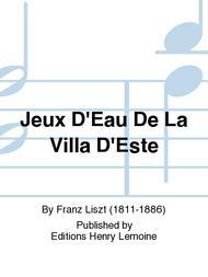 Jeux D'Eau De La Villa D'Este