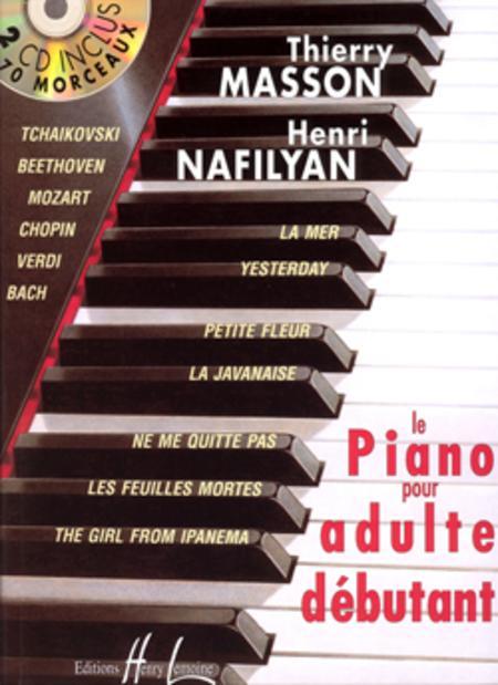 Piano pour adulte debutant avec 2 CD