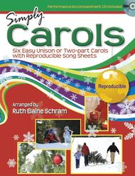 Simply Carols - Songbook and Performance/Accompaniment CD