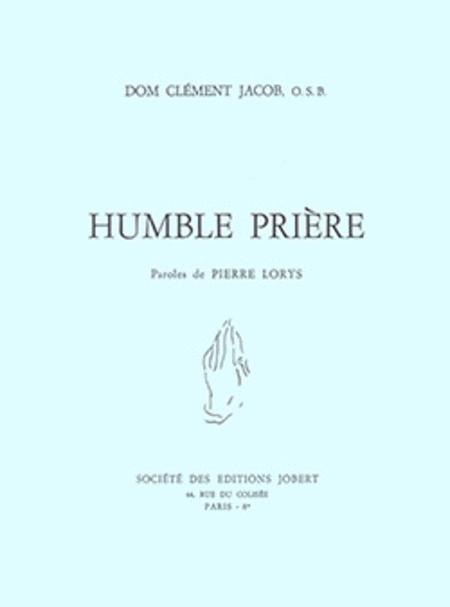 Humble Priere