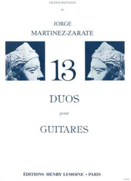 Duos (13) - Transcription