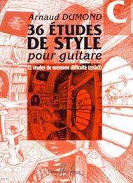 Etudes de styles (36) - Volume C