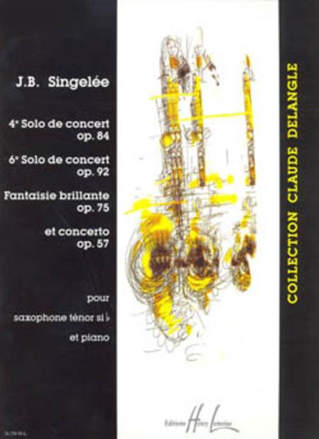 4eme et 6eme Solos de concert / Fantaisie brillante / Concerto Op. 57