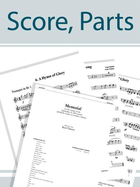 O Come, Let Us Sing - Brass and Percussion Score and Parts