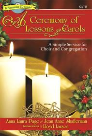 A Ceremony of Lessons and Carols - SATB Score with CD